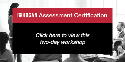 Hogan Assessment Certification: click to view
